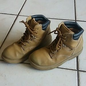 Boys route 66 work boots